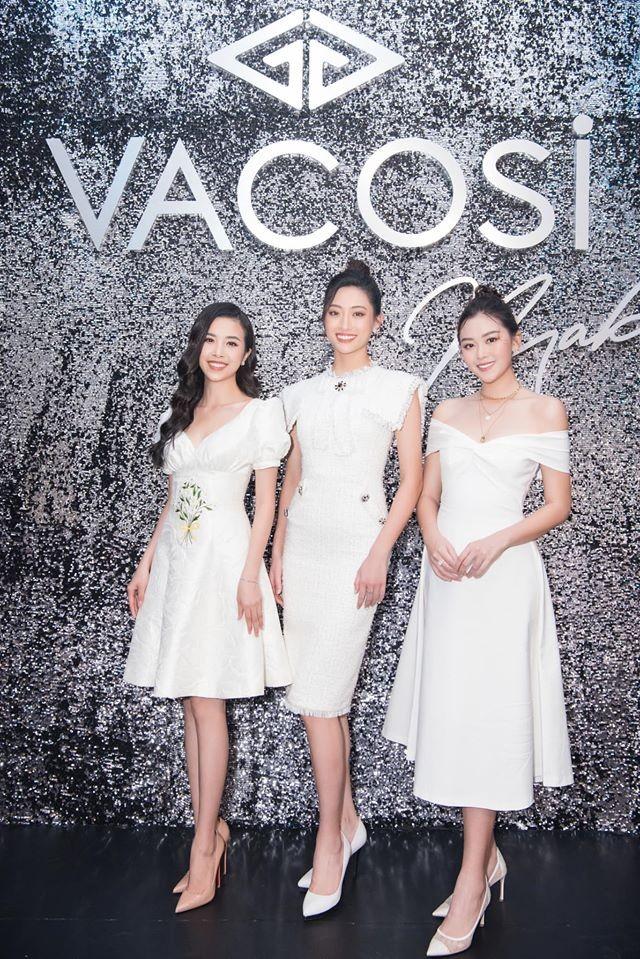 Tường San đẹp tựa 'thiên thần' với váy trắng tinh khiết, Diễm Hương nóng bỏng cùng áo tắm ảnh 8