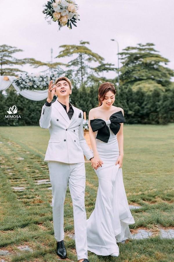 Á hậu Phương Nga - Bình An thực hiện ảnh cưới theo phong cách 'hoán đổi giới tính' ảnh 4