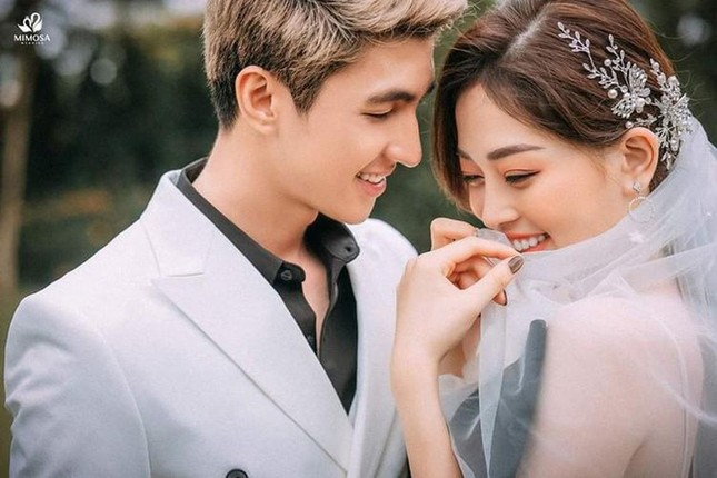 Á hậu Phương Nga - Bình An thực hiện ảnh cưới theo phong cách 'hoán đổi giới tính' ảnh 3
