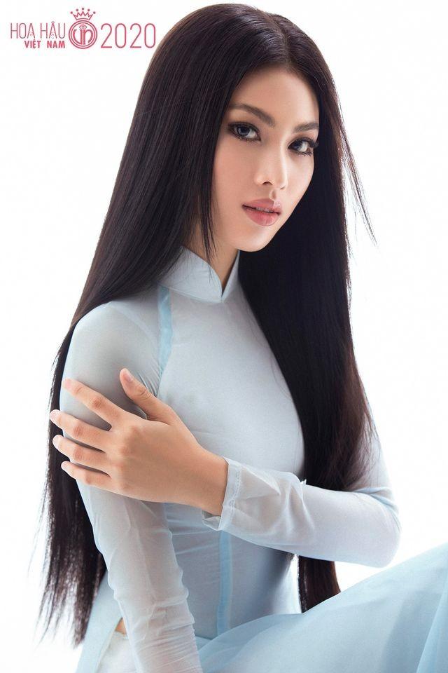 Nữ sinh HUTECH sở hữu chiều cao 1m77 và đôi chân 1m11 dự thi Hoa hậu Việt Nam 2020 ảnh 2