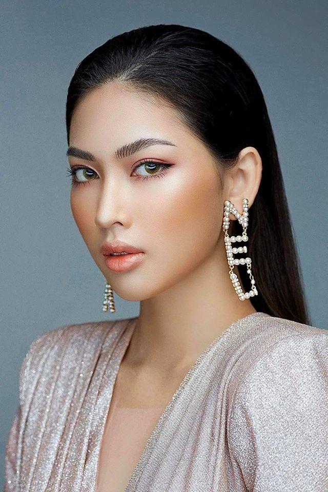 Nữ sinh HUTECH sở hữu chiều cao 1m77 và đôi chân 1m11 dự thi Hoa hậu Việt Nam 2020 ảnh 1