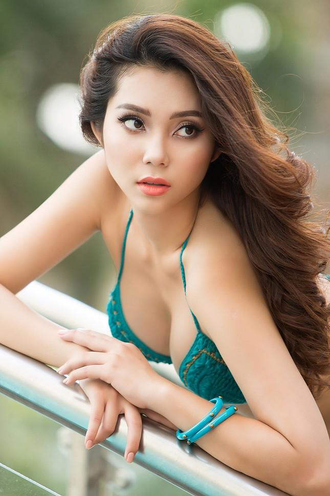 Top 5 Hoa hậu biển Việt Nam Lâm Thu Hồng khoe đường cong 'bỏng mắt' với bikini ảnh 1