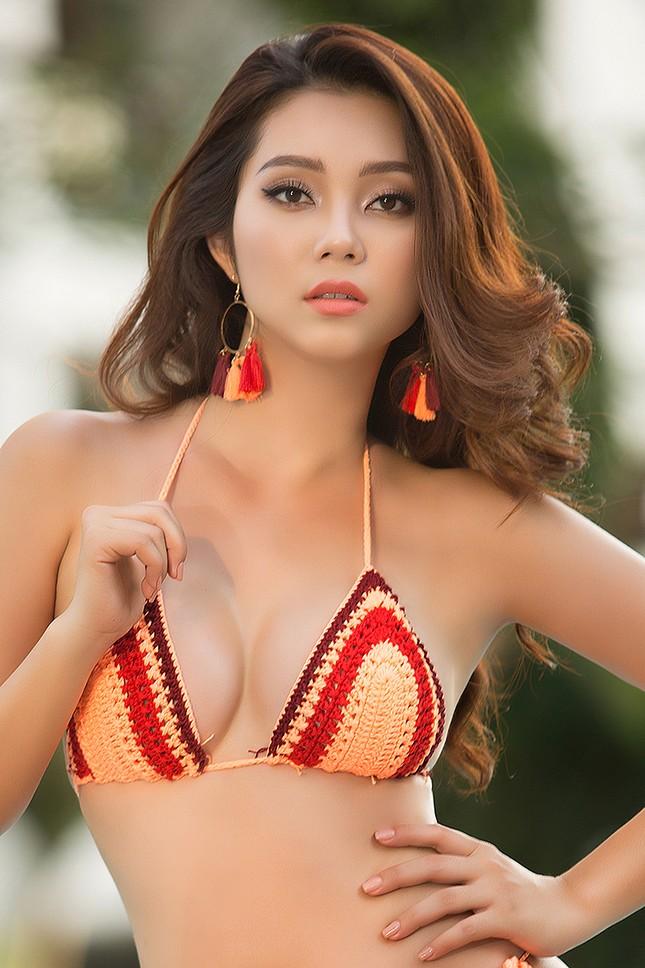 Top 5 Hoa hậu biển Việt Nam Lâm Thu Hồng khoe đường cong 'bỏng mắt' với bikini ảnh 4