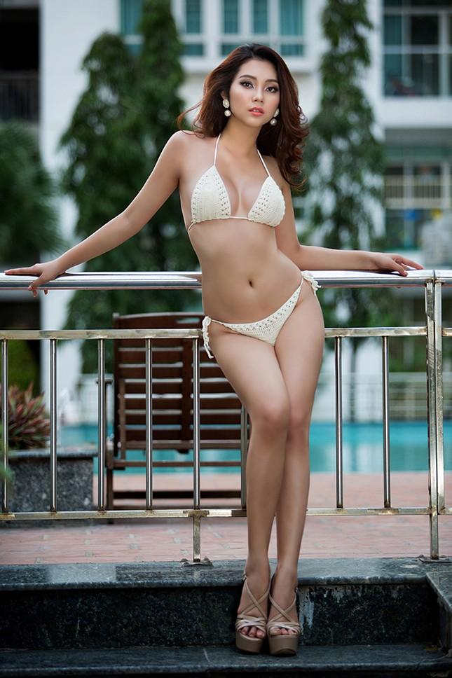 Top 5 Hoa hậu biển Việt Nam Lâm Thu Hồng khoe đường cong 'bỏng mắt' với bikini ảnh 7