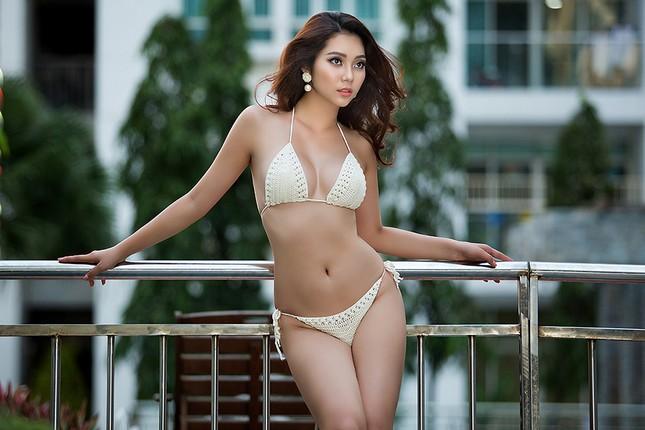 Top 5 Hoa hậu biển Việt Nam Lâm Thu Hồng khoe đường cong 'bỏng mắt' với bikini ảnh 8
