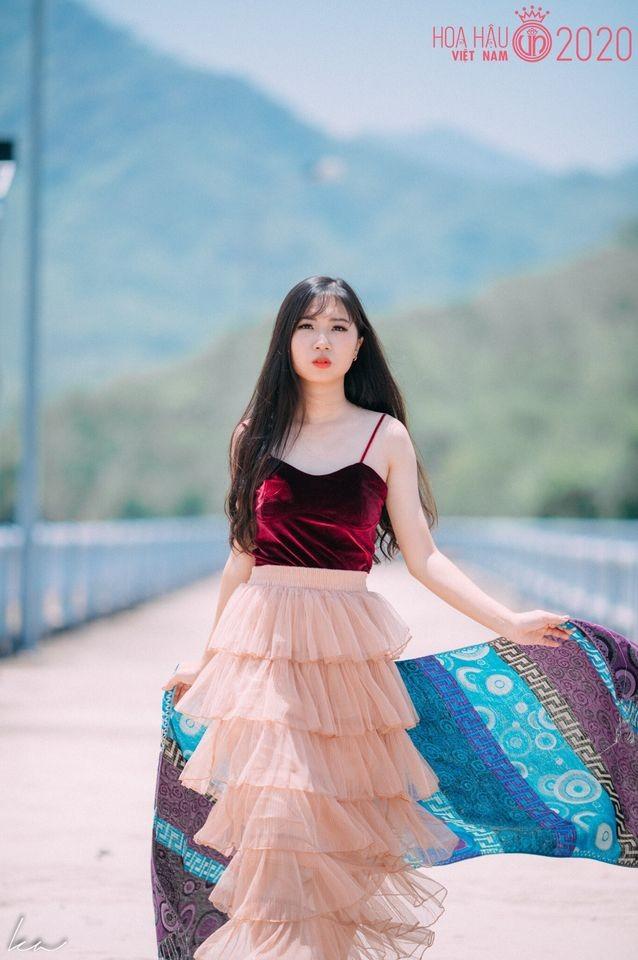 Học trò của siêu mẫu Xuân Lan dự thi Hoa hậu Việt Nam 2020 ảnh 5