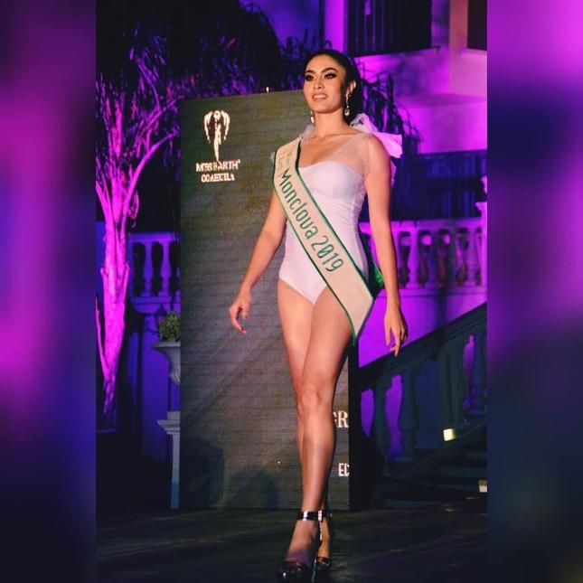 Vận động viên đai đen Taekwondo lên ngôi Hoa hậu Trái đất Mexico ảnh 3