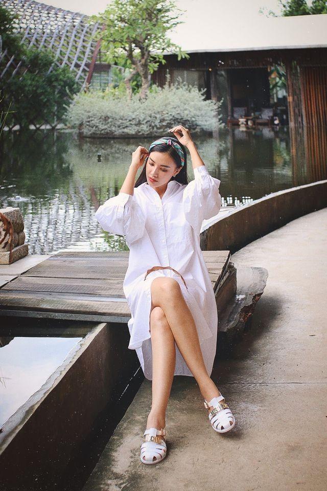 Võ Hoàng Yến 'tấu hài' với mái tóc súp-lơ, Mai Phương Thuý nóng bỏng cùng áo tắm ảnh 14