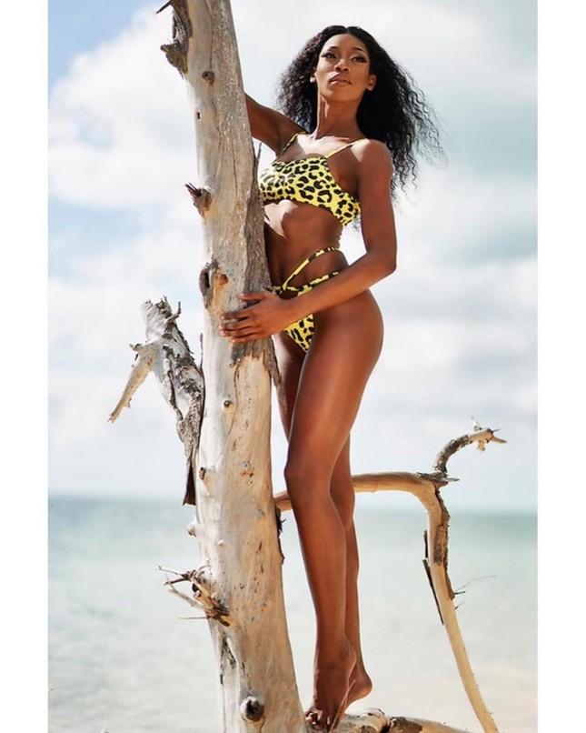 'Búp bê da màu' sở hữu đường cong 'rực lửa' lên ngôi Hoa hậu Hoàn vũ Bahamas ảnh 8