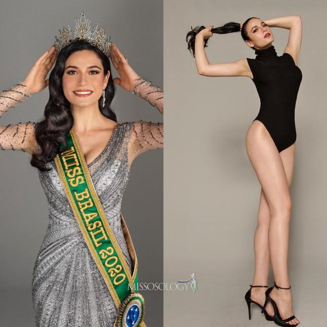 Xuất hiện cùng các đối thủ nặng ký tại Miss Universe 2021, Khánh Vân vẫn nhận 'bão like' ảnh 13