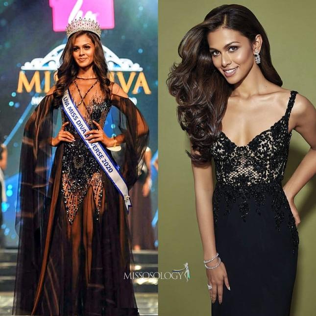 Xuất hiện cùng các đối thủ nặng ký tại Miss Universe 2021, Khánh Vân vẫn nhận 'bão like' ảnh 9