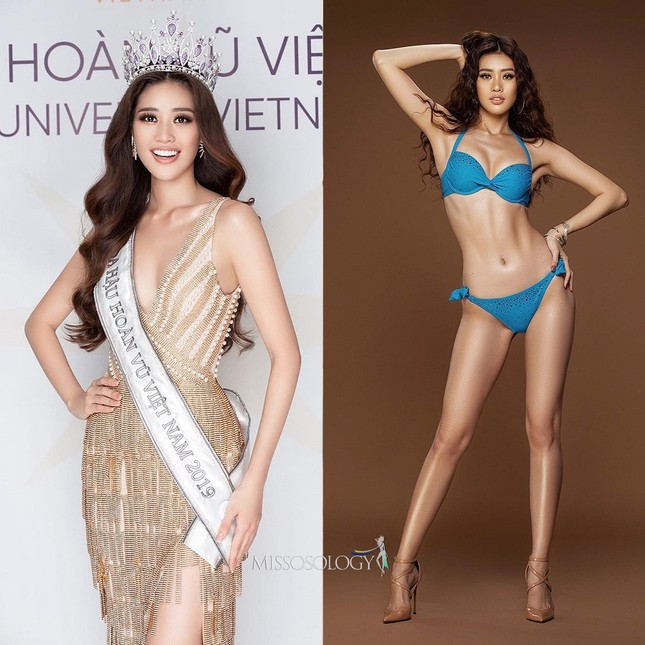 Xuất hiện cùng các đối thủ nặng ký tại Miss Universe 2021, Khánh Vân vẫn nhận 'bão like' ảnh 1