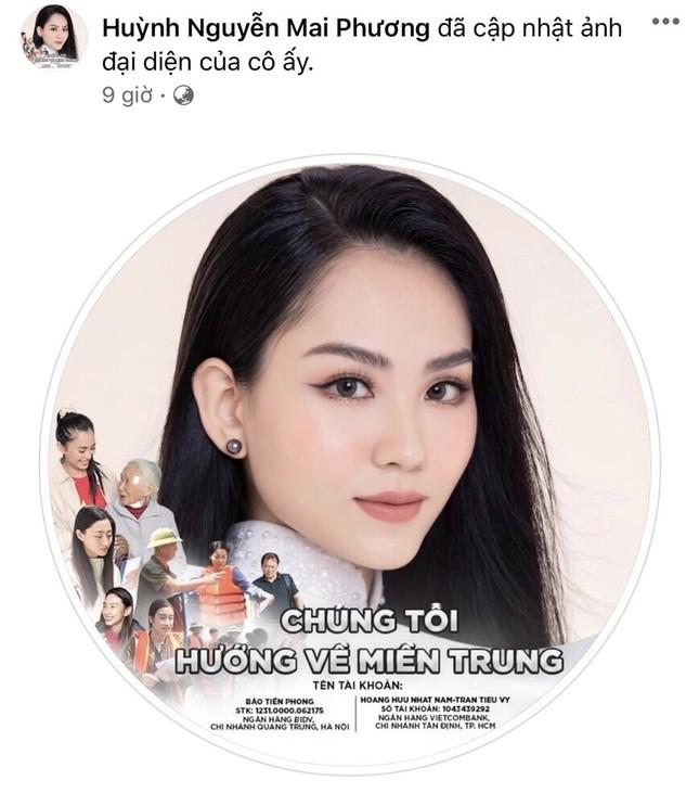 Thí sinh HHVN 2020 chia sẻ đầy xúc động, đồng loạt thay avatar hướng về miền Trung ảnh 18