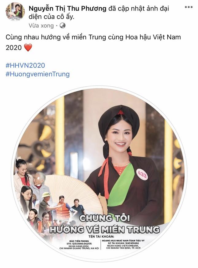 Thí sinh HHVN 2020 chia sẻ đầy xúc động, đồng loạt thay avatar hướng về miền Trung ảnh 9
