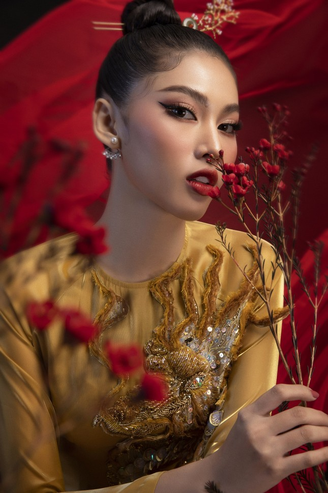 Hé lộ trang phục dân tộc của Á hậu Ngọc Thảo đem đến Miss Grand International 2020 ảnh 5