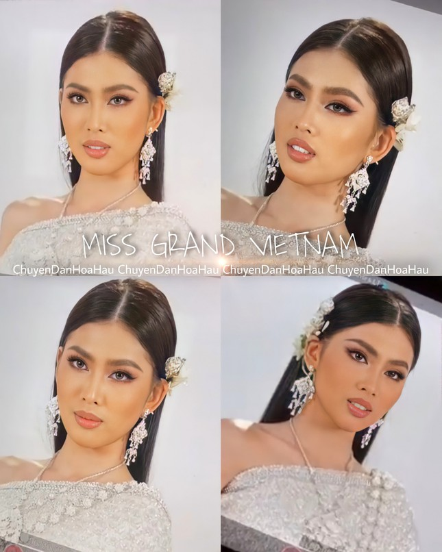 Sau màn catwalk lốc xoáy 3 vòng, Á hậu Ngọc Thảo hóa thân thành gái Thái xinh đẹp khiến fans trầm trồ ảnh 4