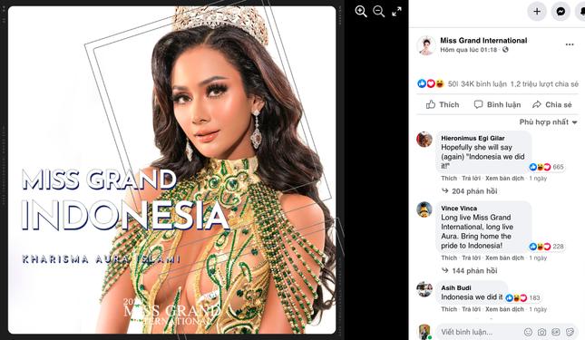 Vừa tới Thái Lan, Á hậu Ngọc Thảo lọt top 10 thí sinh được yêu thích nhất Miss Grand 2021 ảnh 2