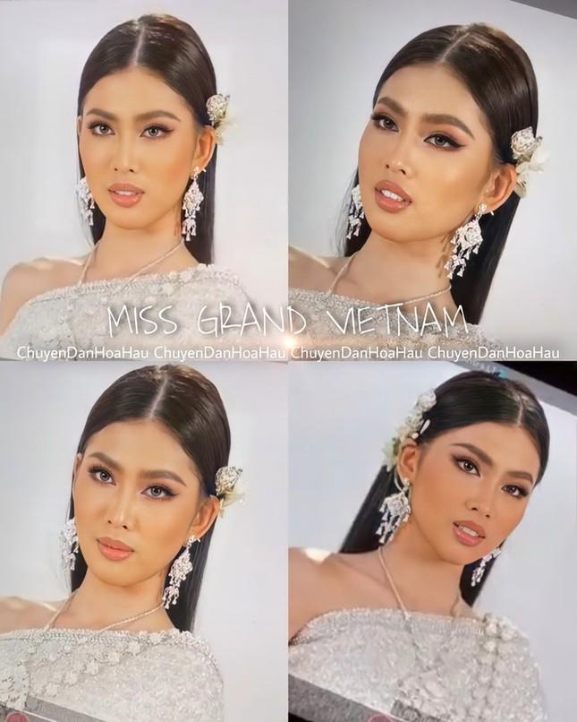 Á hậu Ngọc Thảo lọt top 10 bình chọn video giới thiệu bản thân tại Miss Grand 2021 ảnh 2