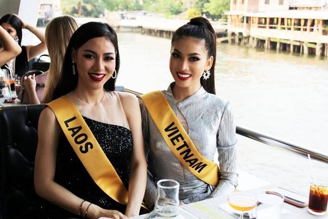 Á hậu Ngọc Thảo hô vang 'Việt Nam' trong họp báo tại Miss Grand ảnh 10
