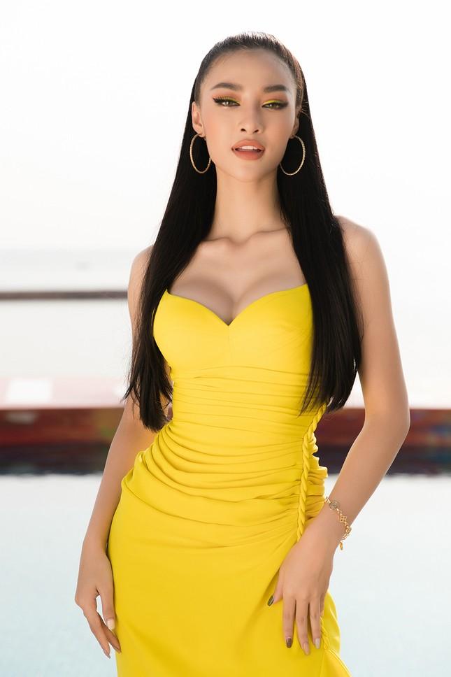 Dàn Hoa, Á hậu cùng diện sắc vàng khoe body nóng bỏng trên thảm đỏ thời trang ảnh 8