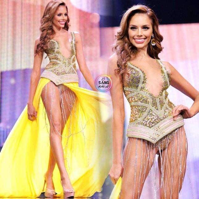 Hoa hậu Venezuela 'lộ hàng' gây sốc, Hoa hậu Panama 'lột váy' tại bán kết Miss Grand ảnh 3