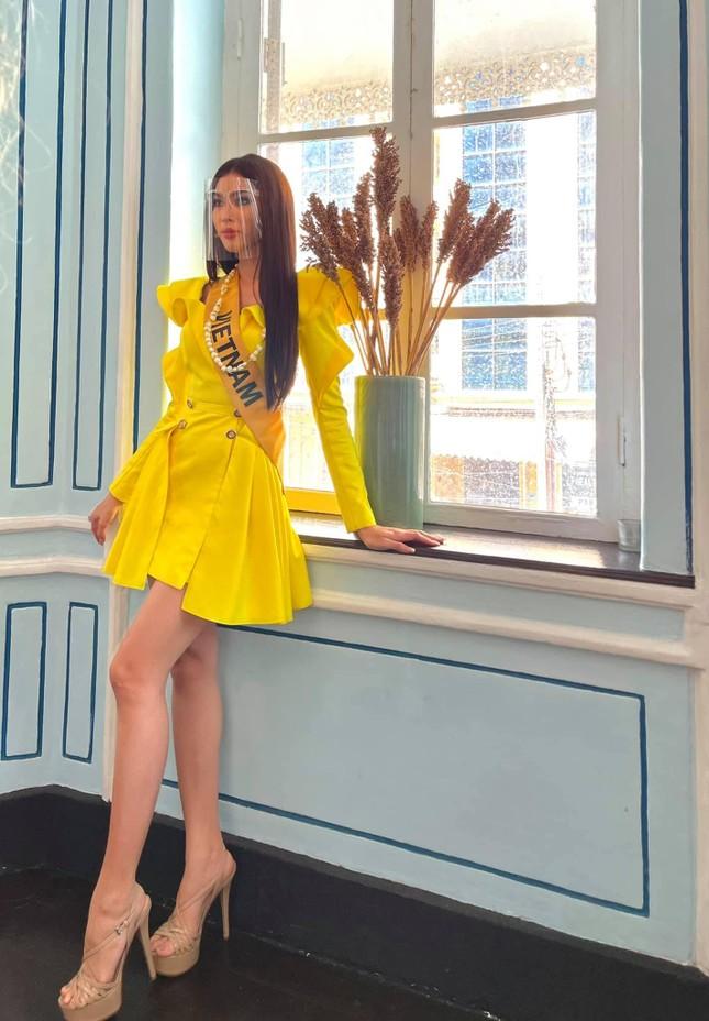 Hành trình rực rỡ đến Top 20 của Á hậu Ngọc Thảo tại Miss Grand 2020 ảnh 9