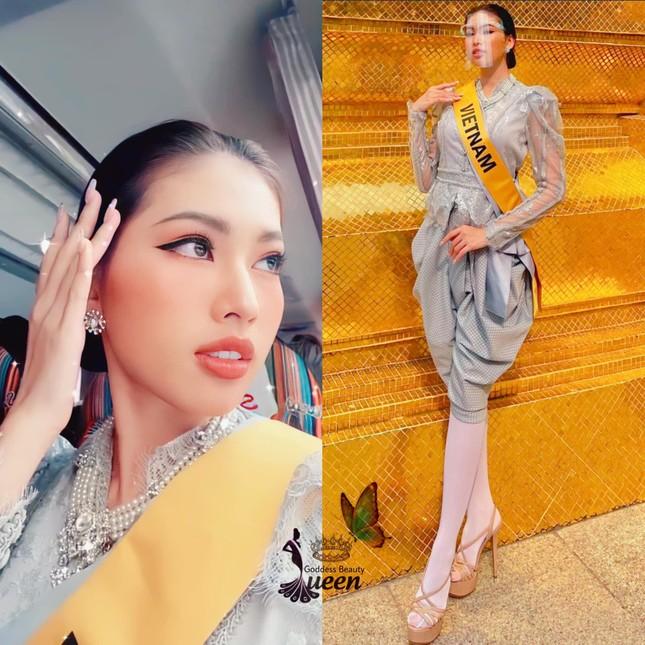 Hành trình rực rỡ đến Top 20 của Á hậu Ngọc Thảo tại Miss Grand 2020 ảnh 14