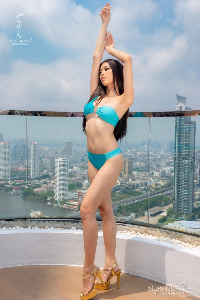 Hành trình rực rỡ đến Top 20 của Á hậu Ngọc Thảo tại Miss Grand 2020 ảnh 17
