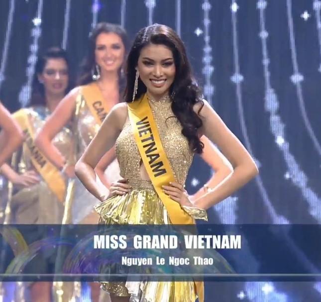 Hành trình rực rỡ đến Top 20 của Á hậu Ngọc Thảo tại Miss Grand 2020 ảnh 23