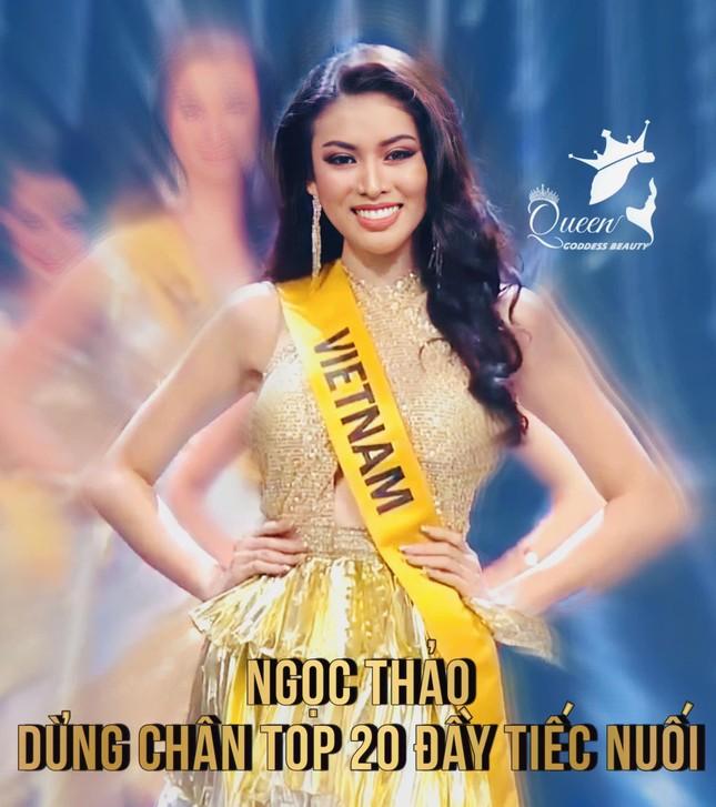 Hành trình rực rỡ đến Top 20 của Á hậu Ngọc Thảo tại Miss Grand 2020 ảnh 25