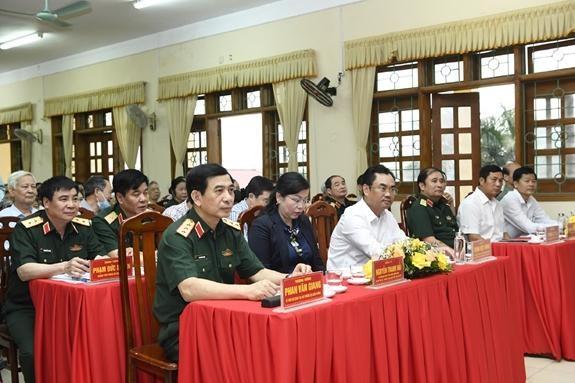 Nhất trí giới thiệu Thượng tướng Phan Văn Giang ứng cử Quốc hội ảnh 2