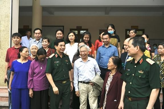 Nhất trí giới thiệu Thượng tướng Phan Văn Giang ứng cử Quốc hội ảnh 5