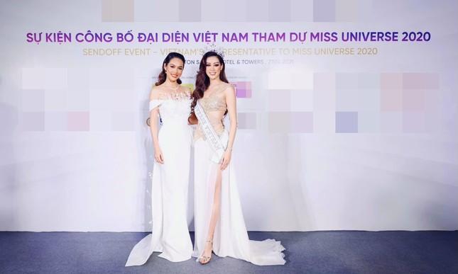 Á hậu Hoàng My diện váy lông vũ trắng đẹp tựa 'thiên nga', đọ sắc Hoa hậu Khánh Vân ảnh 6