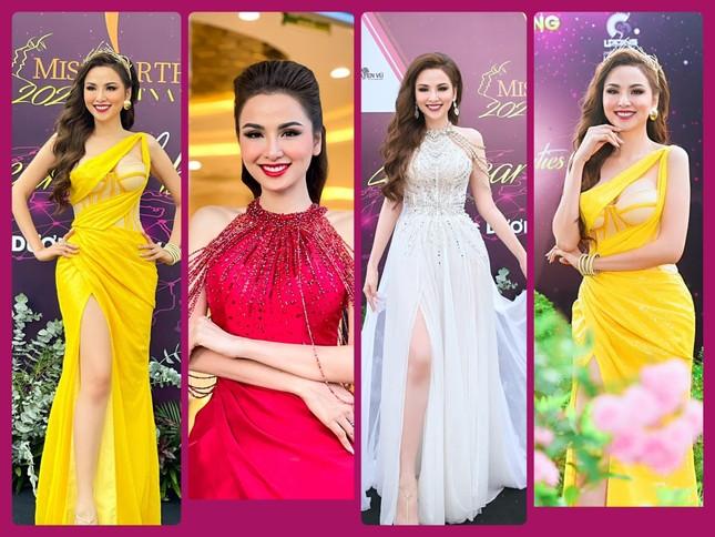 Đỗ Thị Hà khoe vai trần sexy, Hoa hậu Ngọc Khánh tái xuất với áo dài ảnh 11