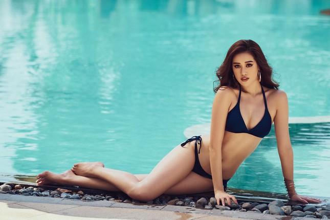 Vừa nhập cuộc Miss Universe, Khánh Vân tung bộ ảnh bikini sexy khiến các đối thủ dè chừng ảnh 5