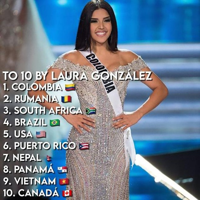 Khánh Vân được Á hậu Hoàn vũ thế giới 2017 dự đoán lọt top 10 Miss Universe ảnh 1
