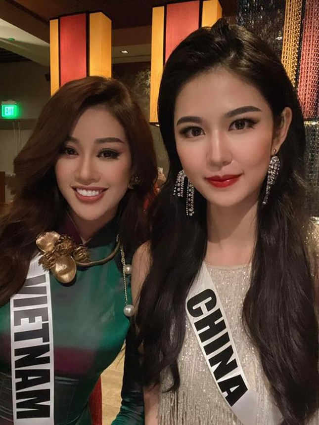 Khánh Vân được Á hậu Hoàn vũ thế giới 2017 dự đoán lọt top 10 Miss Universe ảnh 6