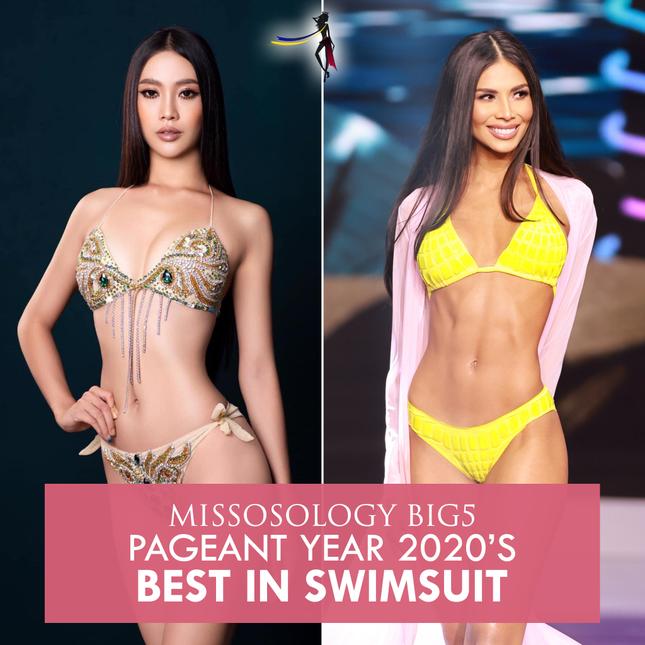 Trang Missosology công bố hoa hậu trình diễn bikini đẹp nhất năm 2020 ảnh 3