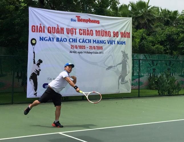 Sôi nổi giải quần vợt báo Tiền Phong chào mừng Ngày Báo chí cách mạng ảnh 6