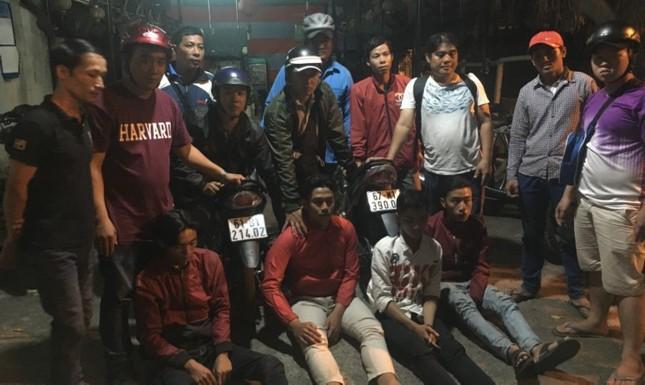 Nhóm hiệp sỹ tóm gọn băng cướp trong đêm giao thừa ở Bình Dương ảnh 3