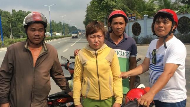Hiệp sĩ bắt gọn 'nữ quái' đang đưa xe trộm cắp sang Campuchia bán ảnh 2