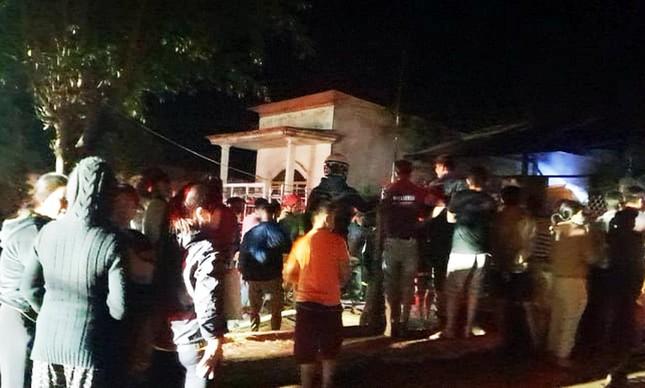 Căn nhà gỗ ở Lâm Đồng hóa tro than sau 20 phút phát hỏa ảnh 2
