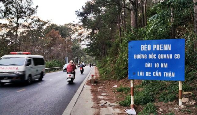 Cấm ô tô trên 16 chỗ lên đèo Prenn Đà Lạt những ngày cao điểm Tết ảnh 1