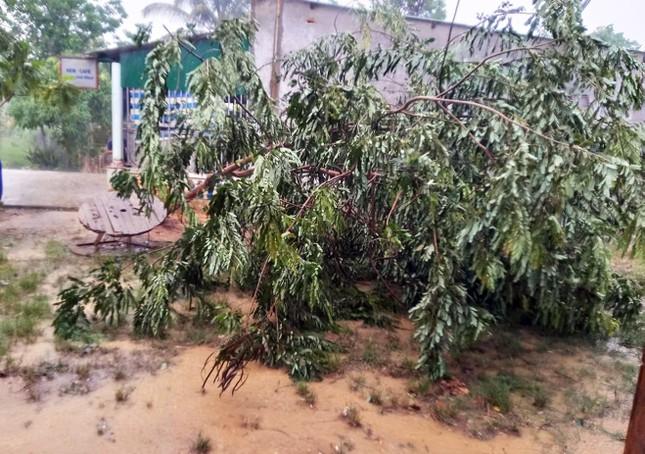 Lốc xoáy bất ngờ thổi bay hàng chục mái nhà ở Lâm Đồng ảnh 1