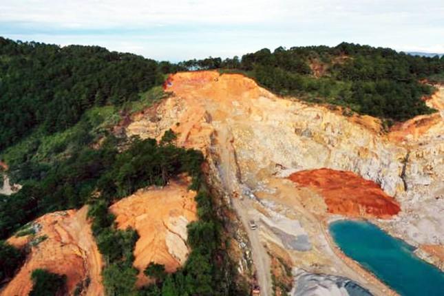 3 công ty cùng khai thác đá, đồi Du Sinh bị 'xé' tan hoang ảnh 1