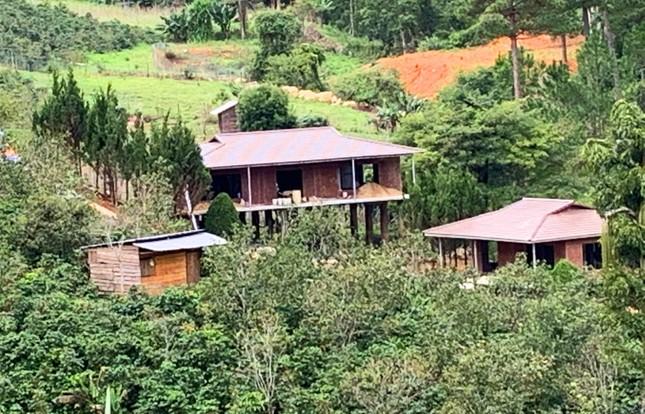 Chỉ đạo giải tỏa toàn bộ ngôi làng xây 'chui' trên đất rừng ảnh 1
