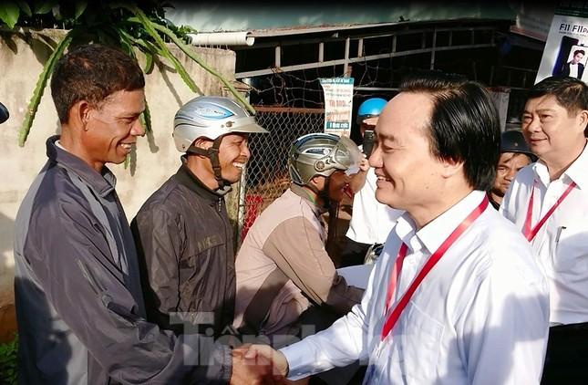 Bộ trưởng Phùng Xuân Nhạ chỉ đạo công tác coi thi ở Đắk Lắk ảnh 2