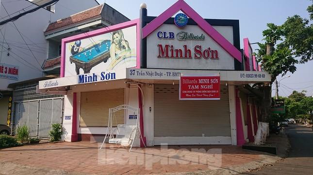 Hàng loạt quán xá ở Buôn Ma Thuột đóng cửa phòng chống dịch COVID-19 ảnh 7