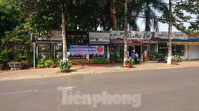 Hàng loạt quán xá ở Buôn Ma Thuột đóng cửa phòng chống dịch COVID-19 ảnh 13