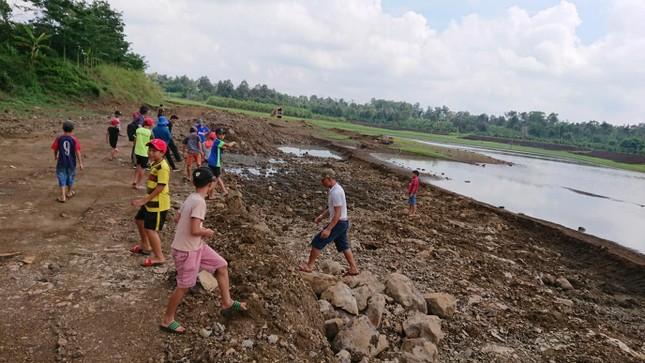 Cận cảnh dự án cải tạo hồ huyện có dấu hiệu lừa dối tỉnh ảnh 8